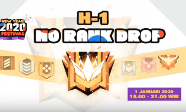 no rank drop means free fire