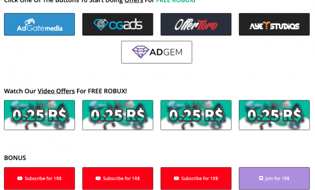 Claimrbx site which Robux can get for free