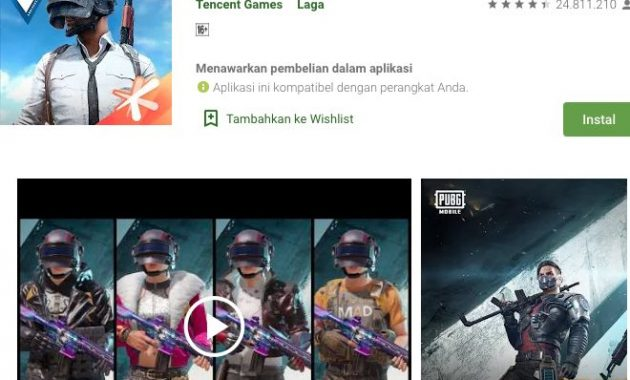 Check out the benefits of PUBG Mobile