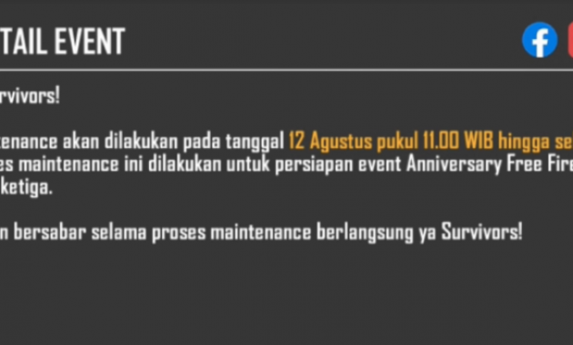 What is maintenance game ff