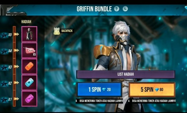 Griffin package Free fire event
