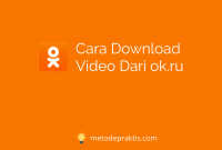 Cara Download Video Dari ok.ru