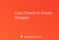 Cara Check In Arisan Shopee