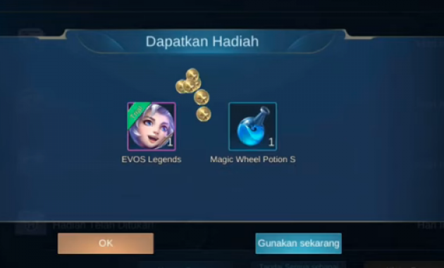 How to get the test skin legend