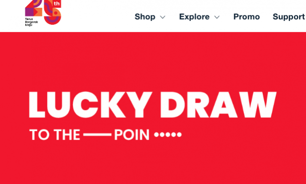 Pemenang Lucky draw Telkomsel 2021
