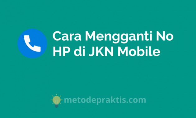 How to change phone number on jkn Mobile