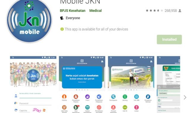 Mobile JKN transaction cannot be processed
